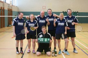 Badminton Landesliga Heimspiel @ Sporthalle